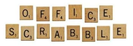 office scrabble