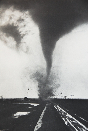 the office tornado